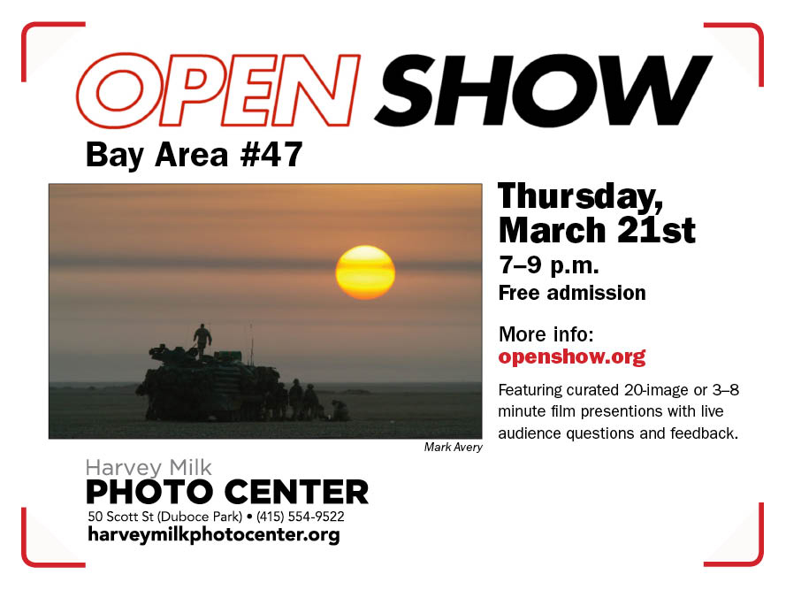 3/21: Open Show Bay Area #47