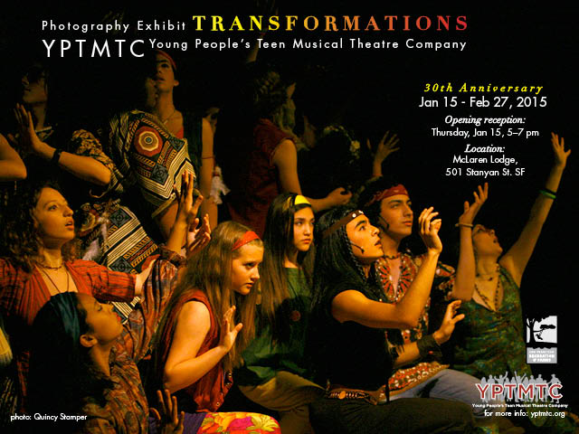 Transformations: YPTMTC's 30th Anniversary, 1/15–2/27